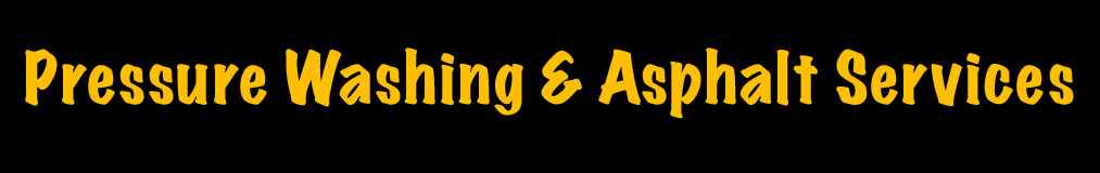 Asphalt Maintenance & Mobile Pressure Washing West Michigan